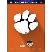 2016 Capital One Orange Bowl Game - Clemson vs. Oklahoma DVD and Blu-ray Combo