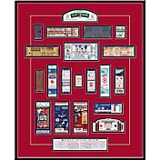 That's My Ticket Boston Red Sox 100 Year Anniversary Framed Printed Ticket Collection