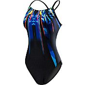 TYR Women's Bravos Diamondfit Keyhole Back Swimsuit
