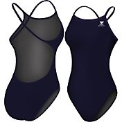 TYR Women's Durafast Elite Solid Crossfit Swimsuit