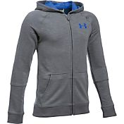 Under Armour Boys' Sportstyle Iso Full-Zip Hoodie