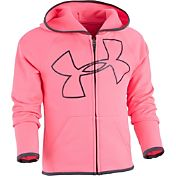 Under Armour Little Girls' Glitter Jumbo Big Logo Full-Zip Jacket