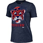 Under Armour Women's Auburn Tigers Blue Triblend T-shirt