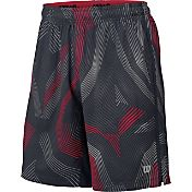 Wilson Men's Geo Print Stretch Woven 10'' Tennis Shorts