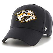 '47 Men's Nashville Predators MVP Navy Structured Adjustable Hat