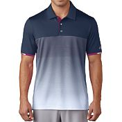 adidas Men's climachill Gradient Stripe Golf Polo