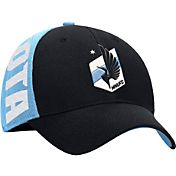 adidas Men's Minnesota United FC Light Blue Structured Flex Hat