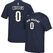 adidas Men's New Orleans Pelicans DeMarcus Cousins #0 climalite Navy T-Shirt