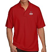 Antigua Men's Super Bowl LI Bound Atlanta Falcons Pique Xtra-Lite Red Polo