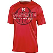 Champion Men's North Carolina State Wolfpack Red Impact Basketball T-Shirt