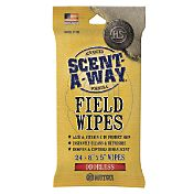 Hunters Specialties Scent-A-Way Field Wipes – 24 pack