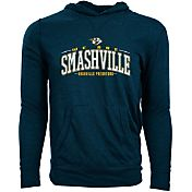 Levelwear Men's Nashville Predators Smashville Navy Long Sleeve Hoodie T-Shirt