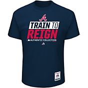 Majestic Men's Atlanta Braves 2017 Spring Training Authentic Collection Navy T-Shirt
