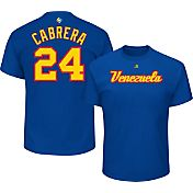 Majestic Men's 2017 WBC Venezuela Miguel Cabrera #24 Royal T-Shirt
