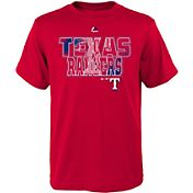 Majestic Youth Texas Rangers Spark Red T-Shirt