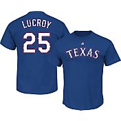 Majestic Youth Texas Rangers Jonathan Lucroy #25 Royal T-Shirt