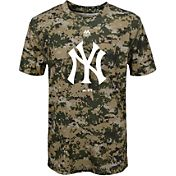 Majestic Youth New York Yankees Cool Base Digi Camo Performance T-Shirt