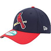 New Era Men's St. Louis Cardinals 9Forty Navy Adjustable Hat