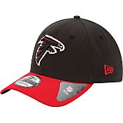 New Era Men's Atlanta Falcons Team Classic 39Thirty Black/Red Flex Fit Hat