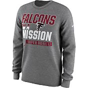 Nike Men's Super Bowl LI Bound Atlanta Falcons Mission Long Sleeve Shirt