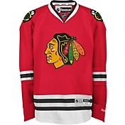 Reebok Men's Chicago Blackhawks Premier Replica Home Blank Jersey