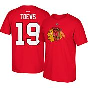 Reebok Men's Chicago Blackhawks Jonathan Toews #19 Player T-Shirt