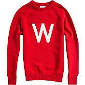 Hillflint Wisconsin Badgers Red Heritage Sweater