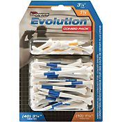 Pride Sports 1.5' & 3.25' Evolution Golf Tee Combo - 50 Pack