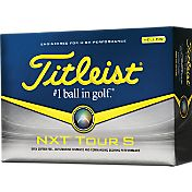 Titleist NXT Tour S Yellow Golf Balls – Prior Generation